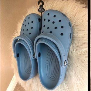 Blue Classic Crocs